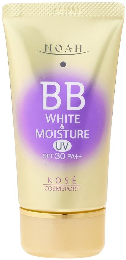 近傍大宇宙感嘆KOSE コーセー ノア ホワイト&モイスチュア BBクリーム UV01 SPF30 (50g)