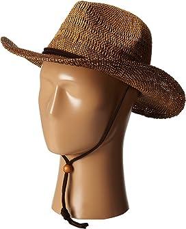 048ac7fecf027 San Diego Hat Company RBM5563 Bucket Ribbon Hat with Crochet Hemp ...