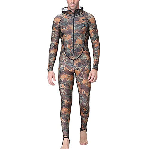 385a7a879a DIVE   SAIL Men Full Cover Wetsuit UV Protection Dry Fast Diving Suit  Snorkeling Swimwear