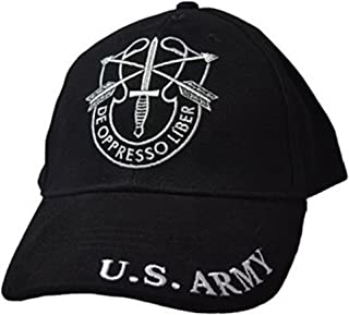 US Army Special Forces SF DE Oppresso LIBER Embroidered Hat Green Beret Premium Quality Dad Hat For Men Women