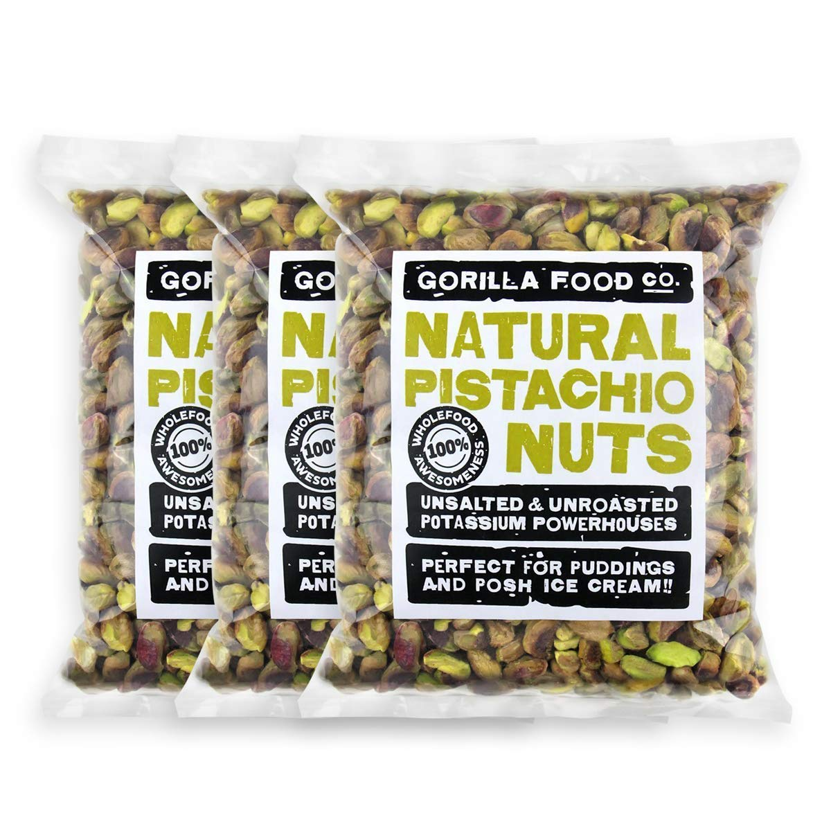 California Pistachios Max 47% OFF Shelled Raw Kernels - security Unsalted 3-Pack 8oz