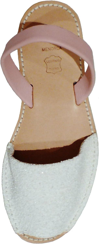 Menorca Menorquin Avarcas with Wedge Platform of 2.5 cm. Menorcan Sandals, Avarcas Menorquinas, Glitter, Abarcas
