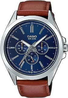 Best casio men's leather watch Reviews