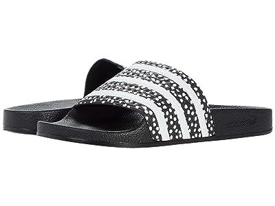 adidas adilette (Core Black/Core White/Core Black) Women