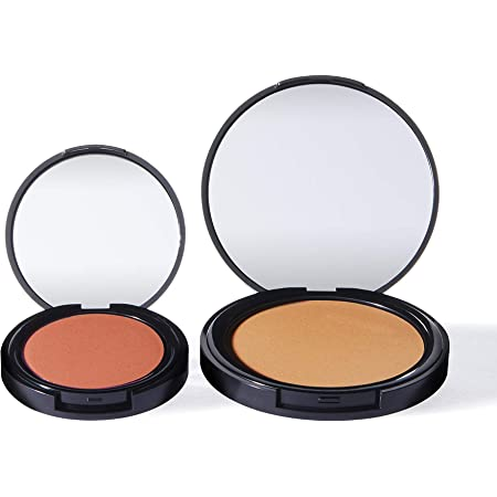 Marchio Amazon - find. Sunkissed radiance duo - scuro (Bronzer n.3 + Blush n.3)