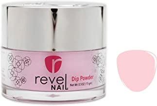 Revel Nail Dip Powder   for Manicures   Nail Polish Alternative   Non-Toxic, Odor-Free   Crack & Chip Resistant   Vegan, Cruelty-Free   Can Last Up to 8 Weeks   0.5oz Jar   Cream   Ballet