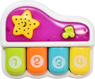 Number 1 in Gadgets Baby Light Up Music Toy, Educational Musical Infant Piano, Learning Sing Along Toys for Toddlers