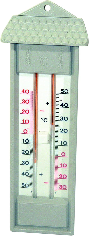 Spear /& Jackson 53100 Thermomètre mini maxi sans mercure Gris