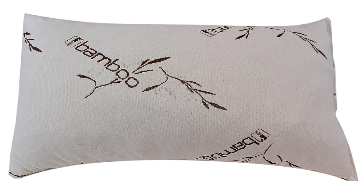 緊急子豚フィクションFive Star竹メモリーフォーム低刺激性枕キングサイズ新しい