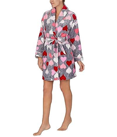 Kate Spade New York Chenille Wrap Robe (Heart Spade) Women