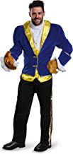 Disney Disguise Men's Beauty and The Beast Prestige Costume, Blue, X-Large