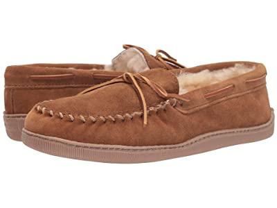 Minnetonka Sheepskin Hardsole Moc (Golden Tan) Men