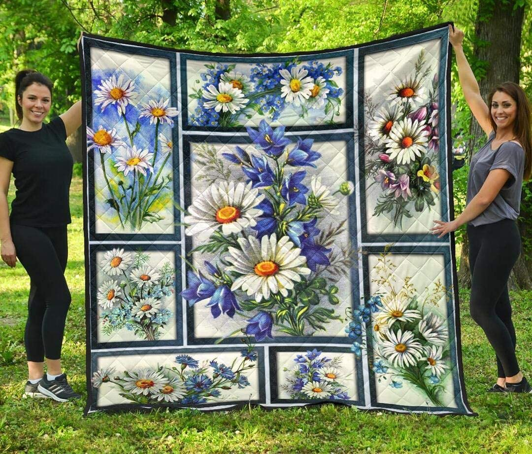Personalized Daisy Quilt to My Mom Special price It is very popular Dad Son Husband Kids Dau Wife
