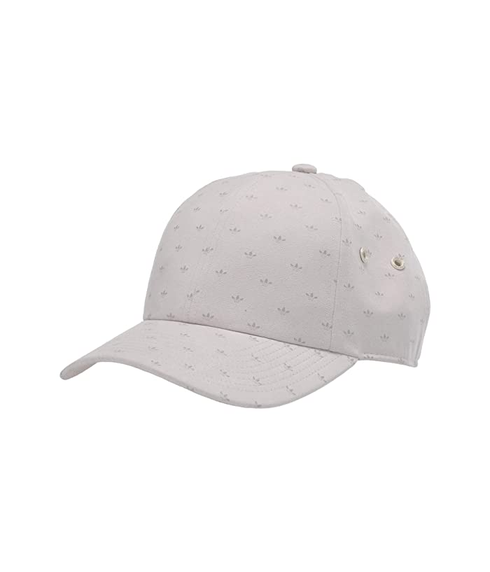adidas Originals  Relaxed Suede Print Cap (Beige/Metal Grey) Caps