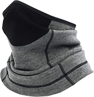 Winter Neck Warmer Gaiter,Breathable & Fleece Face Cover,Scarf Face Mask,Ski Mask Balaclava for Cold Weather