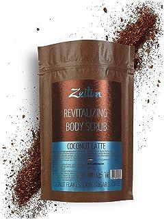Zeitun Exfoliating Body Scrub | Coconut Latte | Cellulite Treatment | Natural Body Exfoliator | Organic Coffee Scrub | Coc...