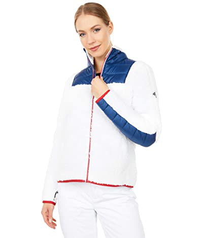 Spyder Boulder Full Zip Fleece Jacket (White) Women