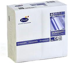 DUNI Dunisoft NEW 高級紙ナプキン 40x40cm 白 ホワイト 60枚入り