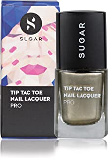 SUGAR Cosmetics Tip Tac Toe Nail Lacquer - 039 Bold As Brass (Metallic Brass)