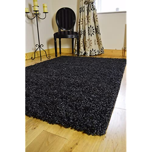 Black And Silver Rugs Amazon Co Uk