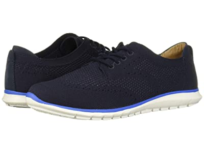 Hush Puppies Tricia Wing Tip Knit (Navy Knit) Women
