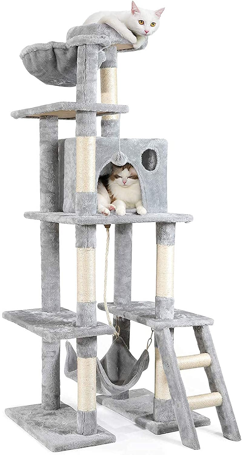 Multi-Storey Cat Tree Activity Max Special Campaign 44% OFF Playhouse Tower Pet Apartmen
