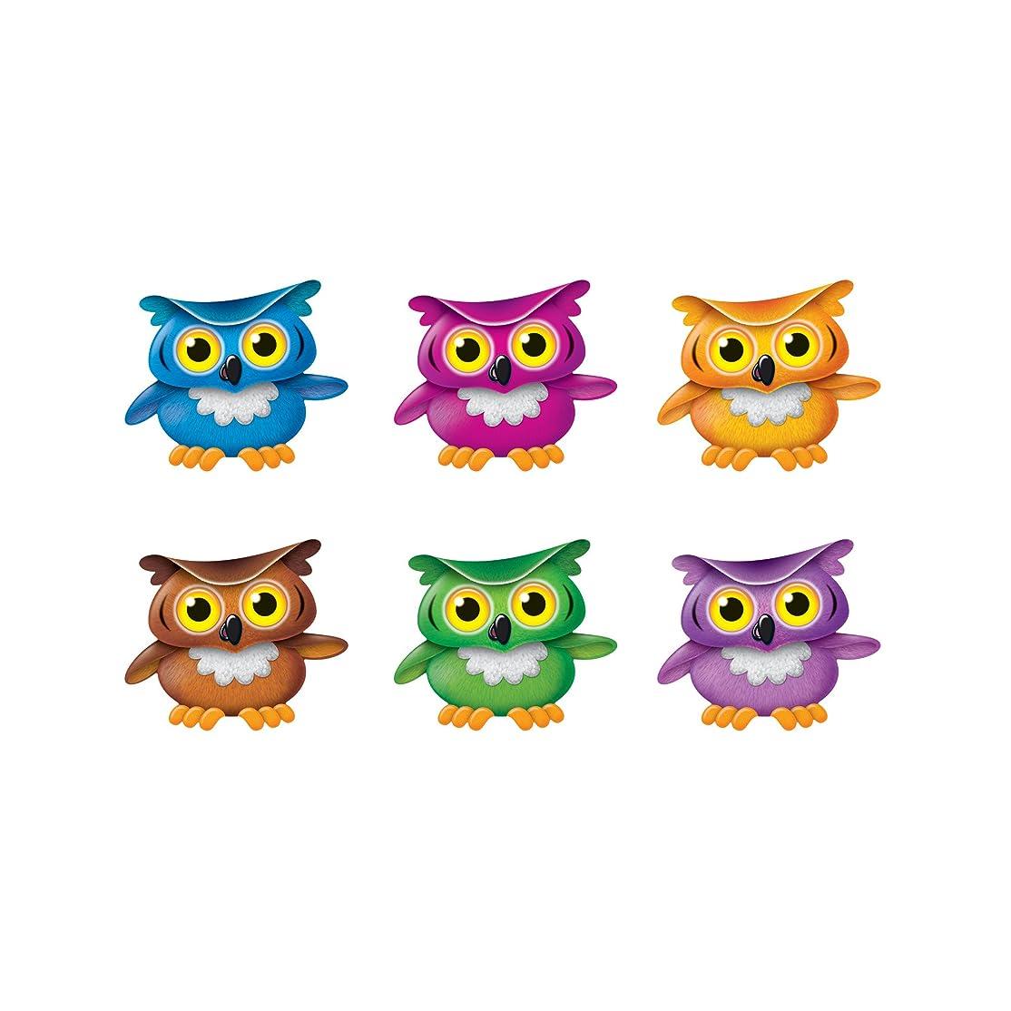 バブルに勝るプーノBright Owls Mini Accents Variety Pk