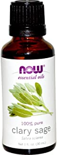 NOW Foods Essential Oils Clary Sage - 1 fl oz