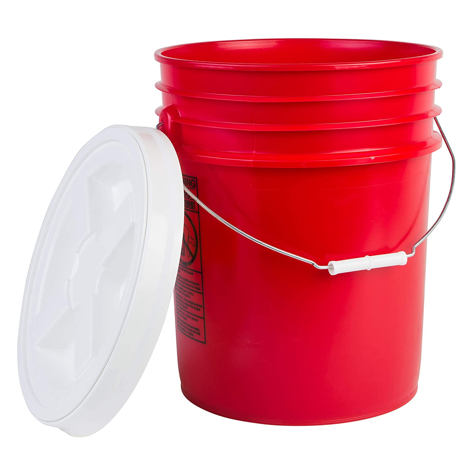 Hudson Exchange Premium 5 Gallon Bucket with online shop Gamma Shipping included Lid Seal HDP