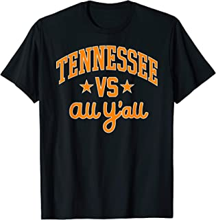 Tennessee Vs. All Y'all V Knoxville Volunteer Vintage Gift T-Shirt