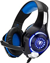 Best Beexcellent Gaming Headset for PS4 Xbox One PC Mac Controller Gaming Headphone with Crystal Stereo Bass Surround Sound, LED Light & Noise-Isolation Microphone Review