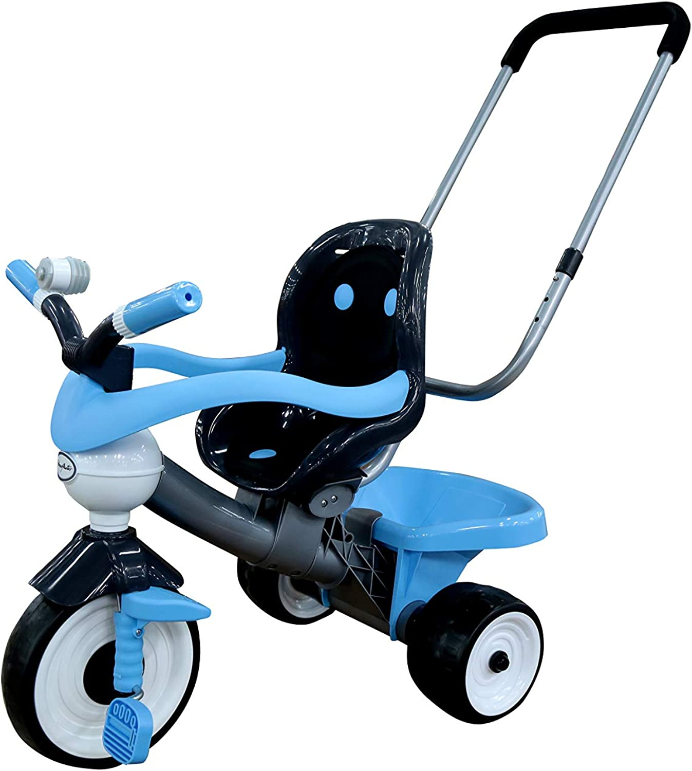 Polesie Polesie46826 Comfort 2 Tricycle W. Bar, Bellows, Handle and CushionTricycles & RideOns, Multi Colour