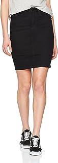 Vmhot Nine HW Dnm Pencil Skirt Noos Ci Falda para Mujer