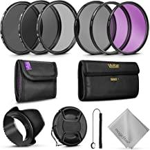Professional 52MM Vivitar UV CPL FLD Lens Filters Kit and Altura Photo ND Neutral Density Filter Set. Photography Accessories Bundle for Nikon and Canon Lenses with a 52MM Filter Size