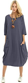 Soft Linen Cotton Lantern Loose Dress Spring Summer Fall Plus Size Clothing Y19