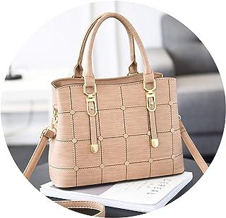 中年女性のバッグハンドバッグ中年の母親の肩のシンプルなシンプルな女性のハンドバッグ