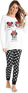 Disney Womens Pyjamas, Cotton Pjs for Women Sets MInnie Mouse Lounge Wear S-XL