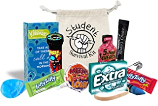 Student Survival Kit, Great for Back to School, Finals Week or Care Package. Funny Gift Idea for Students