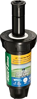 Rain Bird 1802FDS Professional Dual Spray Pop-Up Sprinkler, 360° Full Circle Pattern, 8' - 15' Spray Distance, 2