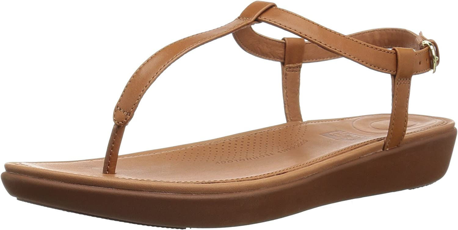 Sales Fashion for sale FitFlop Women's Tia Toe-Thong - Sandals Leather