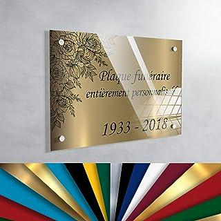 Verre acrylique transparent En d/écoupe /Épaisseur de 4/mm R/ésistant aux UV Lamin/é des 2 c/ôt/és