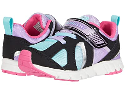 Tsukihoshi Kids Rainbow (Toddler/Little Kid) (Black/Mint) Girls Shoes
