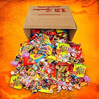 HUGE Assorted Candy PARTY MIX BOX 6.25 LBS/100 OZ Over 250 Individually Wrapped Candies like Skittles Lifesavers Haribo St...