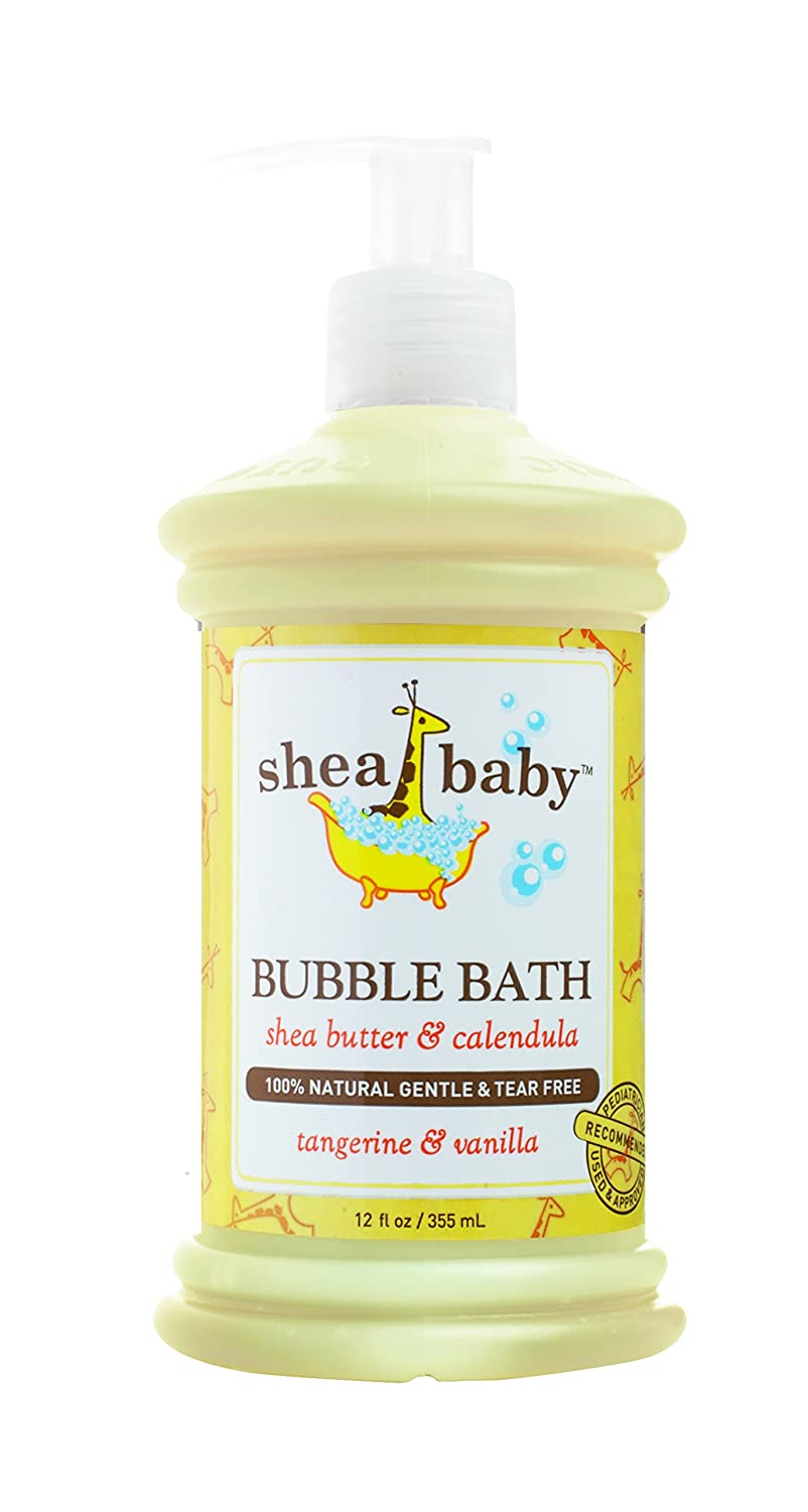 Opening large release sale Out of Africa Shea Baby Max 44% OFF Bubble Tangerine 12 Ounce Vanilla Bath