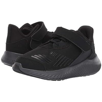 adidas Kids Alphabounce RC 2 EL (Toddler) (Core Black/Core Black/Carbon) Boys Shoes