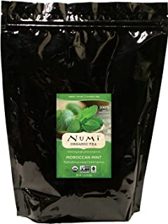 Sponsored Ad - Numi Organic Tea Moroccan Mint, 16 Ounce Pouch, Loose Leaf Herbal Teasan (Packaging May Vary)