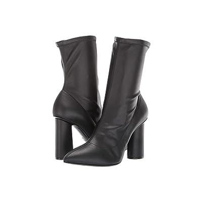 Emporio Armani Stretch Eco-Leather Boot (Black) Women