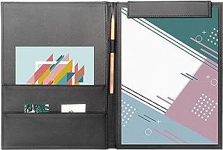 File Folders طوي غطاء مجلد الجلود الأعمال التجارية الحافظة الموثق المغناطيسي على وظيفة الكتابة مجلس الإبداعية مكتب مجلد-2 ...