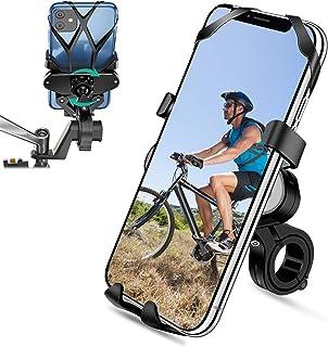 comprar comparacion SYOSIN Soporte Movil Bicicleta, Soporte Movil Moto 360° Rotación Universal Manillar Motocicleta Montaña para iPhone X/XR/X...