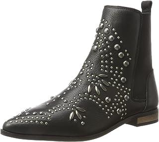 حذاء حريمي من ايتشي بدون رباط، أسود داكن (أسود)، 3.5 UK، 20104613